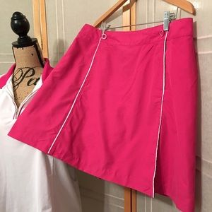 ➕Tennis 🎾 Golf 🏌️♀️ ⛳️ Izod Pink Skort bottom